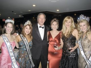 Beauty Queens, Mike, Sara and Heather Beck at the Disability Power and Pride Inaugural Ball
