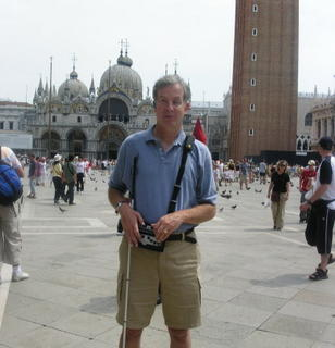 Mike in San Marco Square