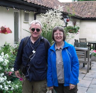Bob and Sue at The George in Bathampton