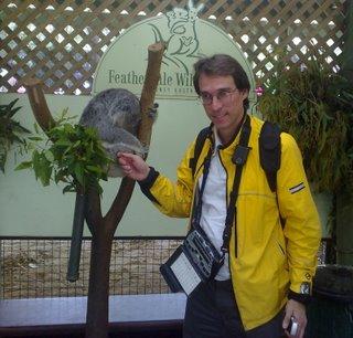 Charles and the Koala