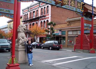 Lions Gate at China Town