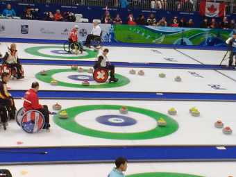 Curling event