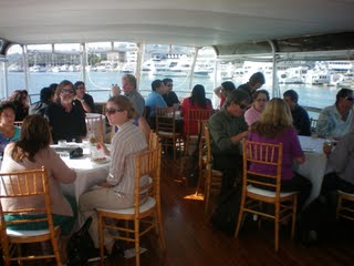 Guests on the Hornblower cruise