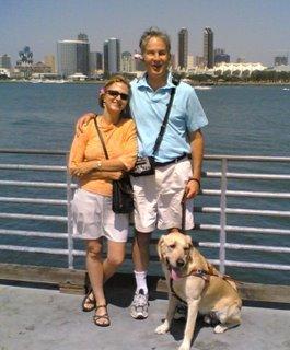 Mike and wife Jennifer enjoying San Diego