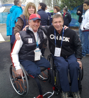 Rick Hansen and Jim Martinson