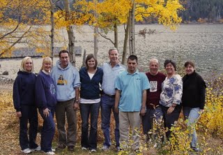 The Sendero Team, left to right: Kim, Sheri, Charles, Jamie, Mike, Chris, Gil, Sheila, Paula
