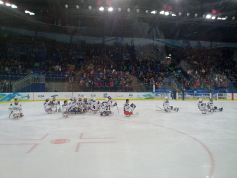 Sledge Hockey team USA