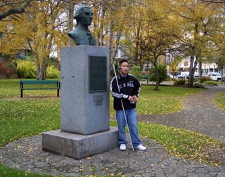 Juan Francisco De La Bodega Y Quadra statue