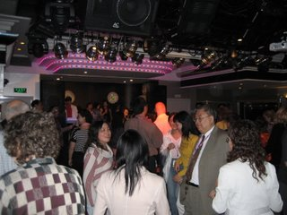 Dance floor packed with dancers