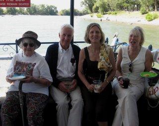 OJ, Mansfield, Jen, and Linda